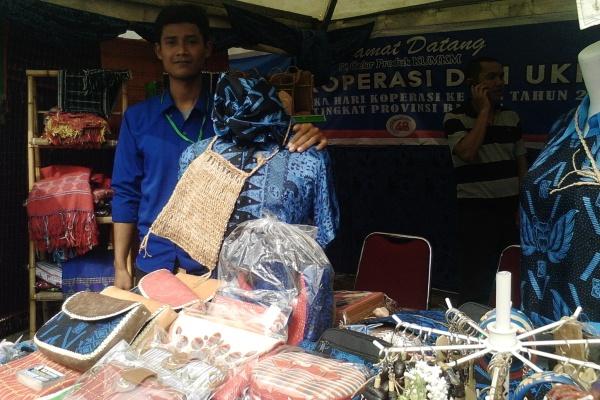 Stan Kabupaten Lebak pada peringatan Hari Koperasi di Tangsel. (one)