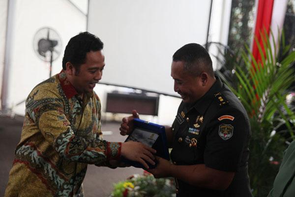 Walikota Tangerang Arief Bersama Dandim 0506 Tangerang