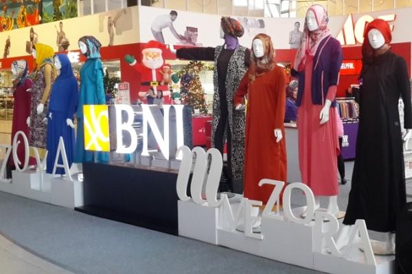 Bazar busana muslim di AEON Mall BSD City. (ist)