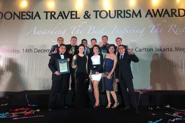 Foto bareng usai acara Indonesia Travel & Tourism Award. (ist)
