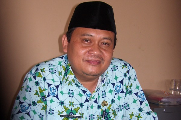 Kepala BP2T Kota Tangsel Dadang Sofyan. (one)