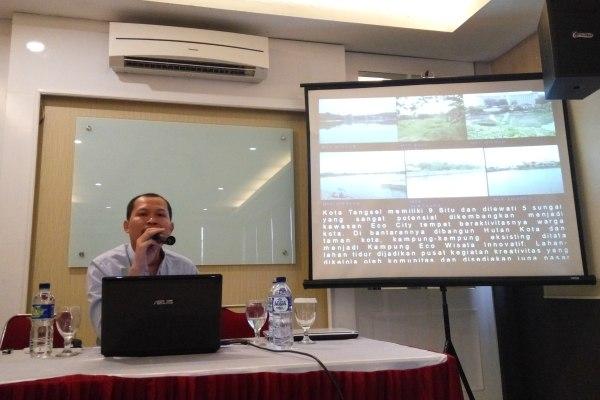 Sekretaris DTKBP Kota Tangsel, Mukoddas Syuhada. (man)