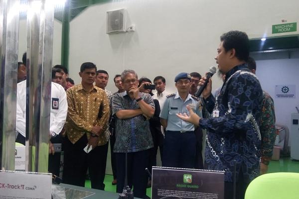 Peresmian pabrik Persandian PT ICK di Taman Tekno Tangsel. (one)