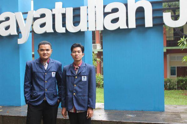 Salah satu calon pada Pemira UIN Jakarta. (ist)