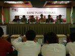 Pleno Rekap Suara KPU Kota Tangsel