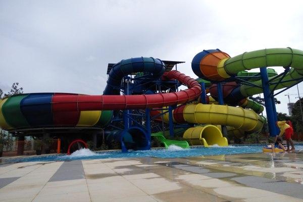 Wahana baru Ocean Park BSD di Serpong, Kota Tangsel. (man)