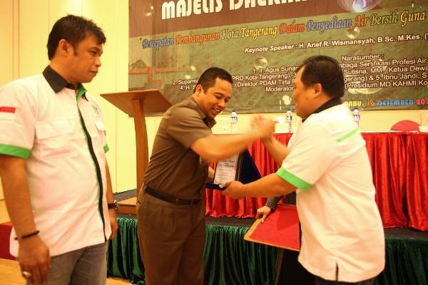 Walikota Tangerang dalam Dialog Publik KAHMI. (ist)