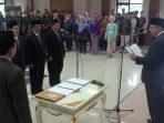 Bupati Tangerang_Pelantikan Direksi PD Pasar Niagar Kerta Raharja