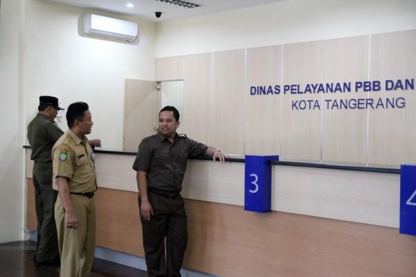 Dinas Pelayanan PBB dan BPHTB Kota Tangerang. (antara.com)