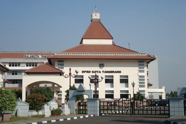 Gedung DPRD Kota Tangerang. (ht)