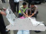 Kecelakaan di depan Polres Tangsel