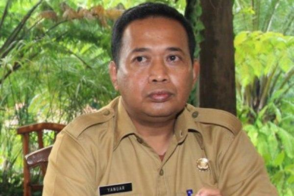 Kepala Kantor Budpar Tangsel, Yanuar. (one)