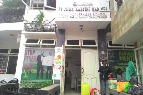 PT Citra Kartini Mandiri, perusahaan yang menjadi objek pemerasan oknum wartawan. (hen)