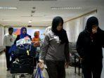 TKI Korban Perdagangan Manusia tiba di Bandara Soekarno Hatta