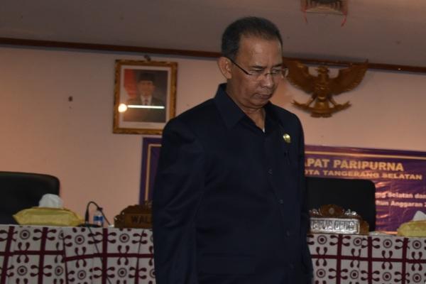 Wakil Ketua DPRD Kota Tangsel, Ahadi. (one)