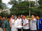 Walikota Tangsel_Tinjau Lahan BNK Tangsel