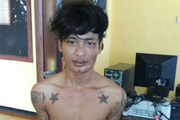 Pelaku pencurian dengan kekerasan di Jombang. (man)