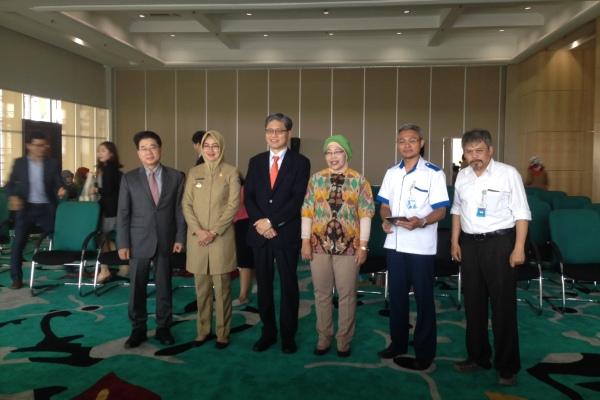 Foto bersama usai persiapan Global Innovation Forum. (ist)