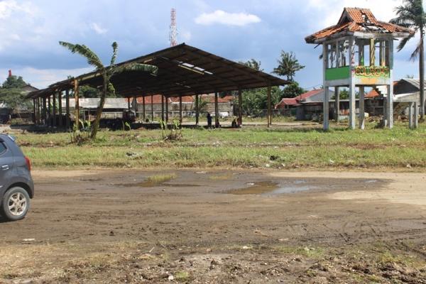 Kawasan Terminal Pondok Cabe di Pamulang, Kota Tangsel. (dok)