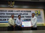 BPN Kota Tangsel Serahkan Rp 21 Miliar Untuk 30 Bidang Pembebasan Lahan Tol Serpong-Cinere