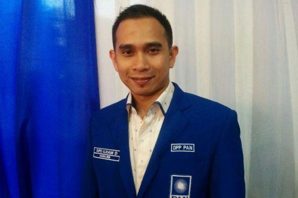 Dipo Ilham, Wasekjen DPP PAN. (ist)