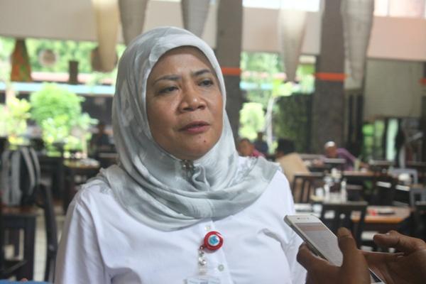Kepala DBMSDA Kota Tangsel, Retno Prawati. (man)