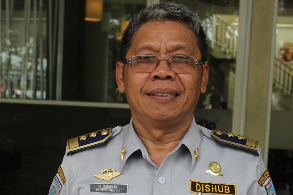 Kepala Dishubkominfo Kota Tangsel, Sukanta. (one)