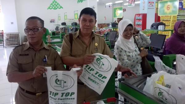 Pemkot Tangsel Apresiasi Kantong Go Green Tiptop