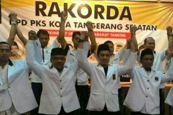 Rakorda DPD PKS Kota Tangsel. (jok)