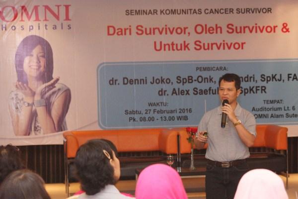 Seminar kanker yang digelar di OMNI Hosiptal. (man)