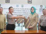 Serah Terima Lahan Polres Tangsel_Kapolda Metro Jaya Irjen Tito Karnavian