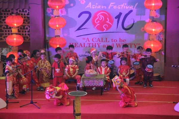 Siswa Stella Maris School Gading Serpong tampil dalam Asian Festival. (ist)