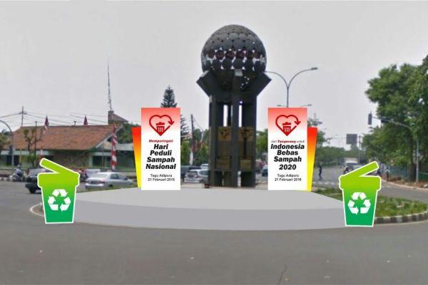 Tugu Adipura Kota Tangerang. (ist)