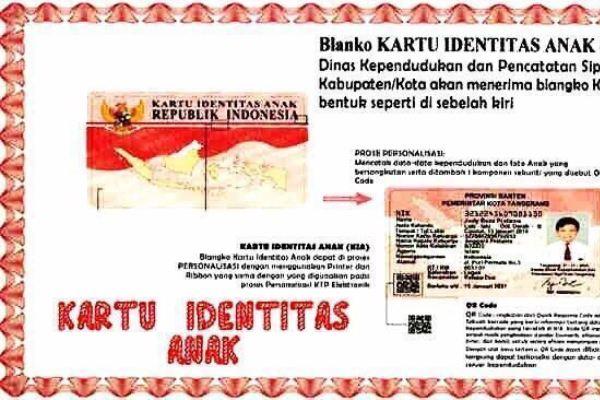 Kartu Identitas Anak. (ist)