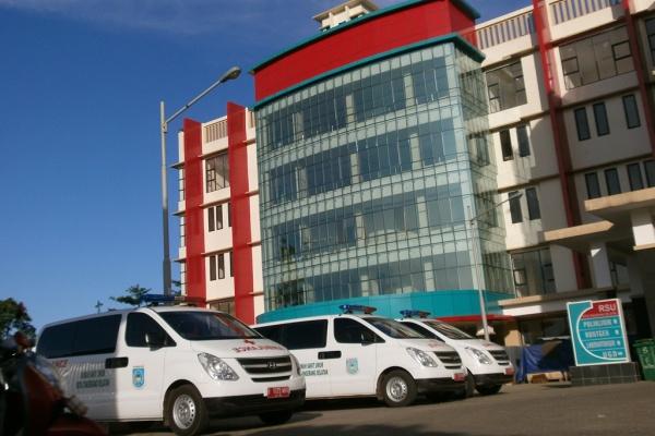 Gedung RSU Kota Tangsel. (dok)