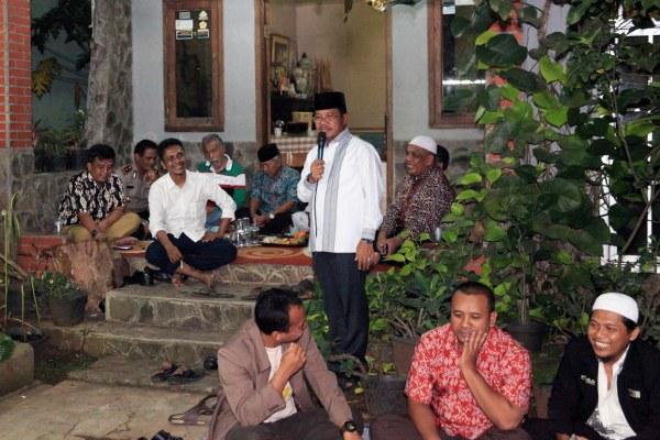 Wakil Walikota Tangerang, Sachrudin menghadiri kegiatan Majelis Sahabat Blosso. (ist)