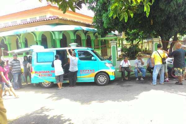 Pelayayan PBB keliling yang digelar DPPKAD Kota Tangsel. (ymw)