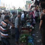 Penyebab Macet, Lapak PKL di Pasar Serpong Digusur