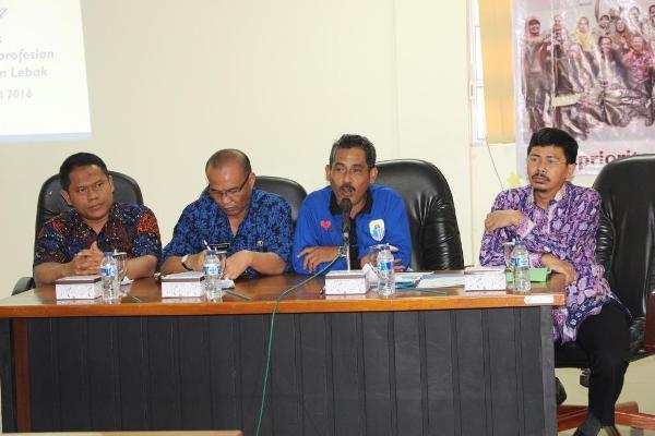 ASDA IV Pemkab Lebak Tajudin membuka secara resmi konsultasi publik Kabupaten Lebak. (ist)