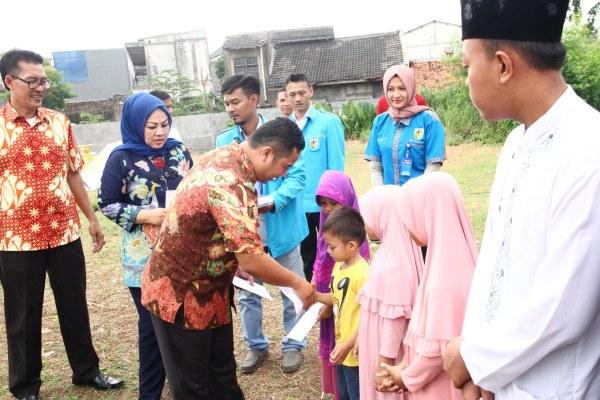 Walikota Tangerang, Arief R Wismansyah saat hadir di acara Larangan Culture Festival. (ist)