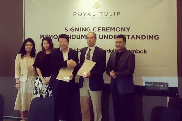 Peluncuran Hotel Royal Tulip Mandalika Lombok. (ist)