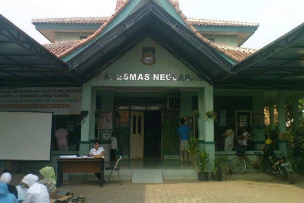 Puskesmas Neglasari di Kota Tangerang. (bbs)