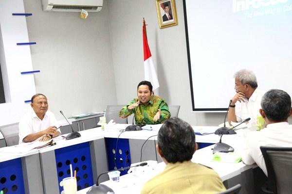 Rapat koordinasi antara Pemkot Tangerang dengan Balai Besar Wilayah Sungai Ciliwung Cisadane. (ist)
