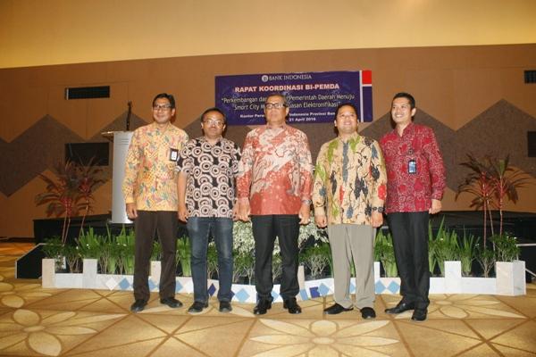Rapat Koordinasi Bank Indonesia Cabang Banten dengan Pemerintah Daerah. (eni)