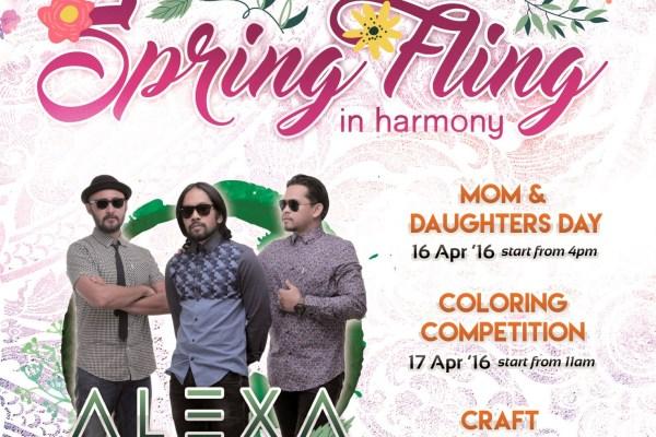 Event Spring Fling di Scientia Square Park. (ist)