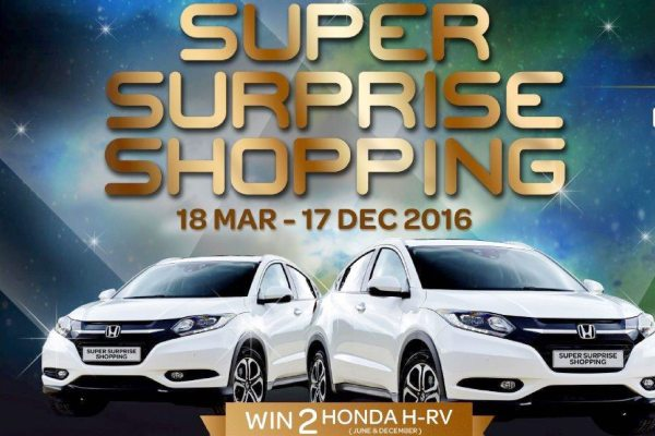 Super Surprise Shopping 2016 Supermall karawaci. (ist)