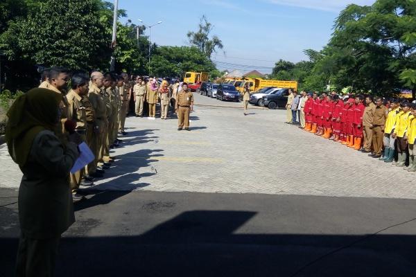 Kepala DBMSDA Kota Tangsel, Retno Prawati saat peluncuran Tim UPR. (one)
