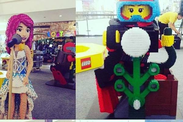 Lego City di Supermal Karawaci. (ist)