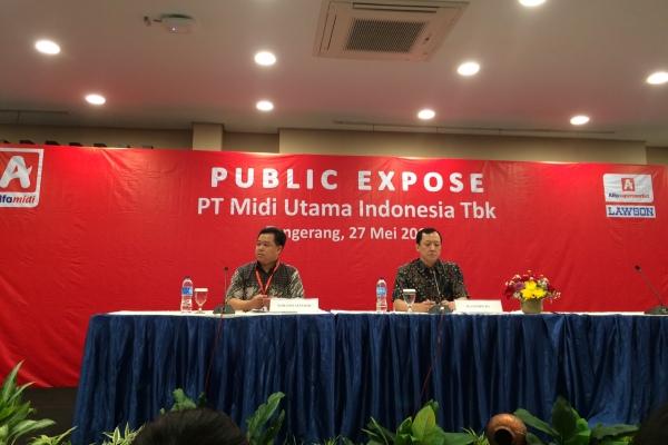 Public Expose PT Midi Utama Indonesia Tbk. (man)
