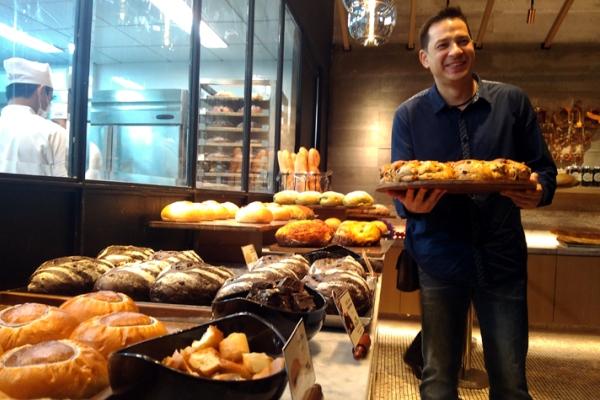 Ari Wibowo, Brand Ambassador Francis Artisan Bakery. (bud)